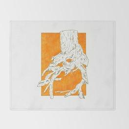 Tree Trunk Throw Blanket