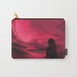 Pink plains Carry-All Pouch