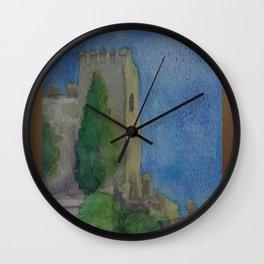 Alcazaba Tower WC151209m-14 Wall Clock