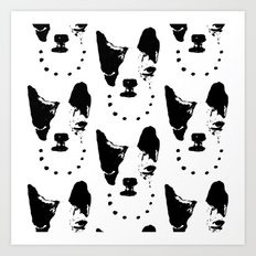 Frenchie! Art Print