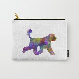 Portuguese Water Dog in watercolor Carry-All Pouch