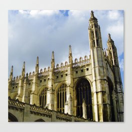 King's College at Cambridge Canvas Print