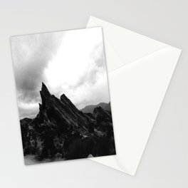 Foggy Rocks Stationery Cards