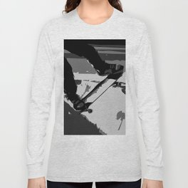 Half Pipe Skateboarding Long Sleeve T-shirt