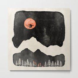 Hunter's Moon... Metal Print