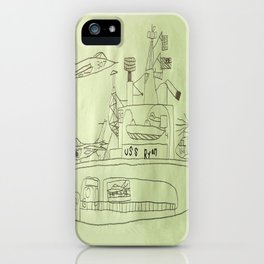 The USS Ryan Carrier iPhone Case