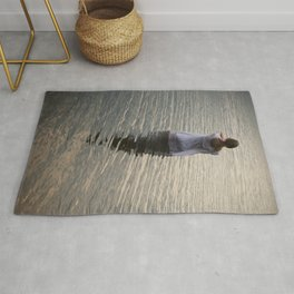 Dreaming in the water Rug