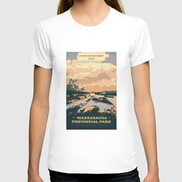 The Massasauga Park Poster T-shirt
