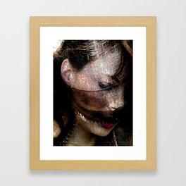 Machined Framed Art Print