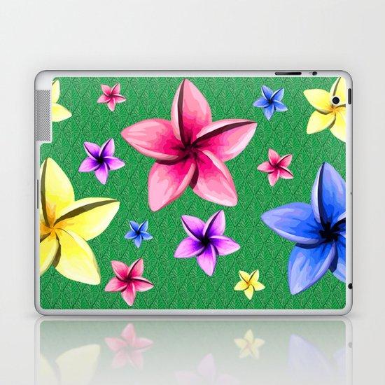 Flower Crazy Laptop & iPad Skin