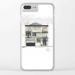 78 Wakefield Clear iPhone Case