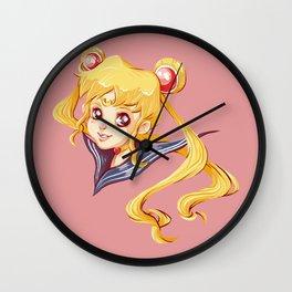 Seilor Moon Wall Clock