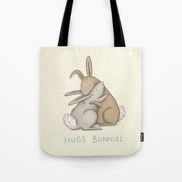 Hugs Bunnies Tote Bag