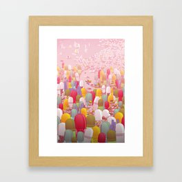 Society of Pills Framed Art Print