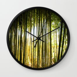 Rothschild Bamboo Forest Wall Clock