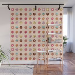 Is their such a thing as too many donuts? Wall Mural
