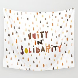 Unity in Solidarity Wall Tapestry