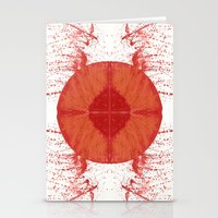u2 Stationery Cards featuring Sunday bloody sunday by A-Pass