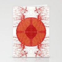 u2 Stationery Cards featuring Sunday bloody sunday by Art Pass