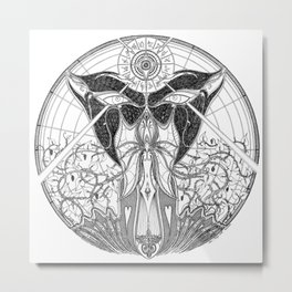 The Gods are Speaking, I See You Now Metal Print