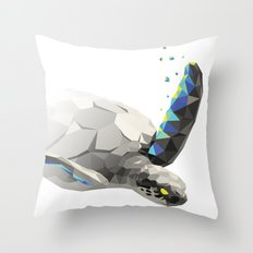 Geosafari   Turtle Throw Pillow
