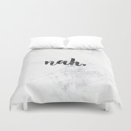 NAH Marble Quote Duvet Cover