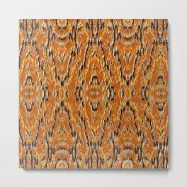 big diamond ikat tapestry Metal Print