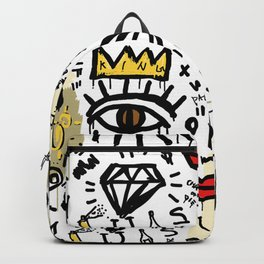 SLAVE ONLY DREAMS TO BE KING Backpack