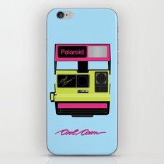 Cool Cam Polaroid iPhone & iPod Skin