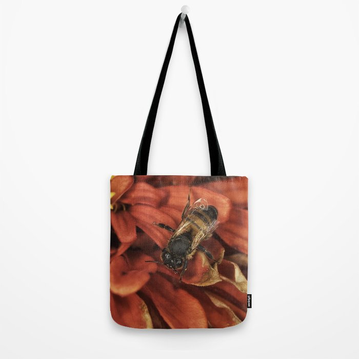 Drying off after the rain Tote Bag