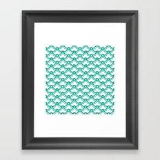 matsukata in emerald Framed Art Print