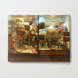 Shop Window, San Telmo, Buenos Aires Metal Print