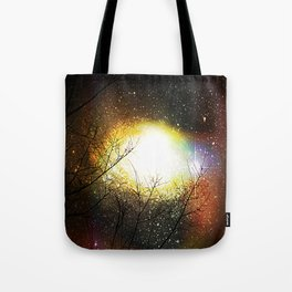 Eye Wide Opened Tote Bag