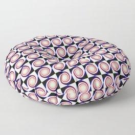 Spiral Chess Floor Pillow