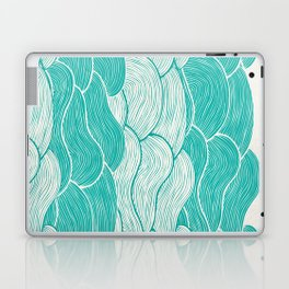The Calm and Stormy Seas Laptop & iPad Skin