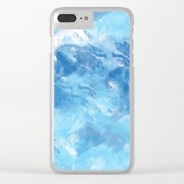 Abstract 43 Clear iPhone Case