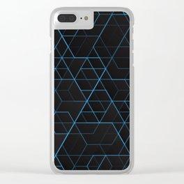 Geometric pattern 022 Clear iPhone Case