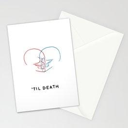 'Til Death (Minimal) Stationery Cards