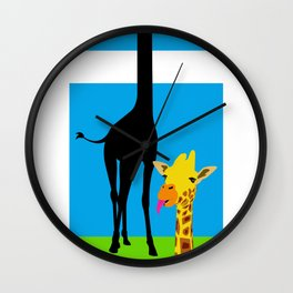 Legless Wall Clock