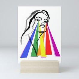 Goddess of hope- la nouvelle vague d'espoir - Mini Art Print