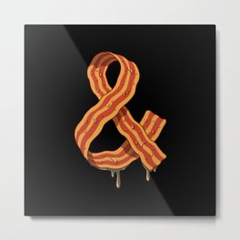 Kevin's Bacon Metal Print