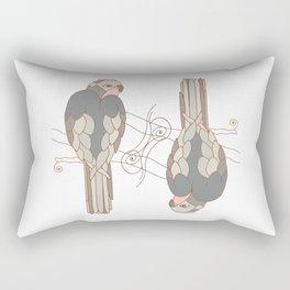 African gray parrot Rectangular Pillow