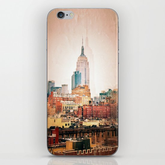 NYC Vintage style iPhone & iPod Skin