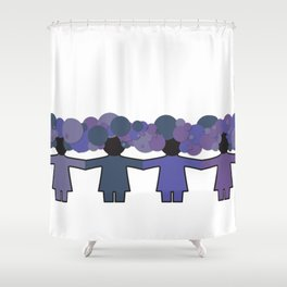 changeling Shower Curtain