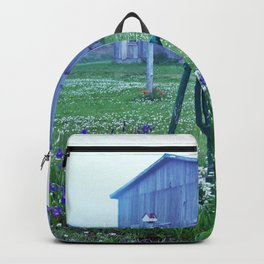 Vintage Barn Scene Backpack