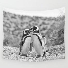Penguin Love Wall Tapestry