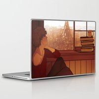 enjolras Laptop & iPad Skins featuring Enjolras by rdjpwns