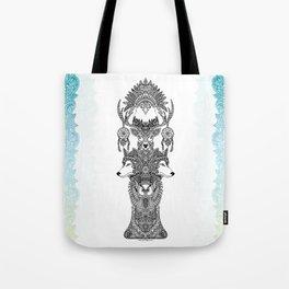 Indian Totem Tote Bag