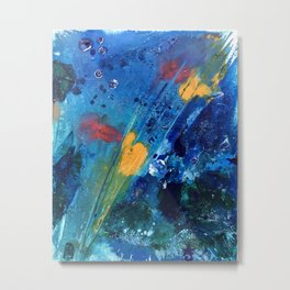 Views of Rainbow Coral, Tiny World Collection Metal Print