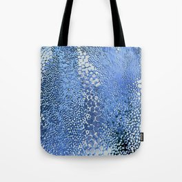 gush of dots in blue Tote Bag